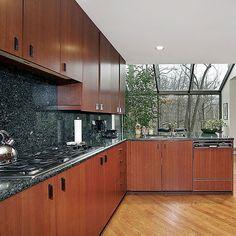 atrium in kitchen