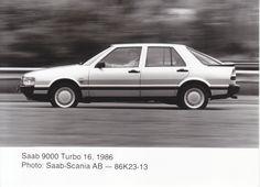 Saab 9000 Turbo 16 - 1986