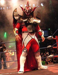"""The legendary Jushin """"Thunder"""" Liger. #luchalibre #prowrestling #cmll #njpw #maskedwrestlers"""