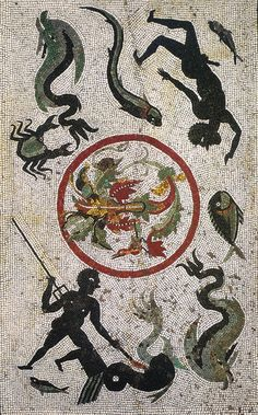 Mosaic from Pompeii