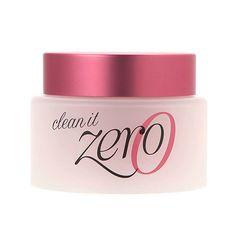 Clean it Zero facial cleanser that removes makeup