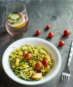 Summer Pesto Noodle Salad, a recipe on Food52