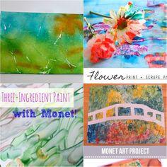 Accidentaccio: Ispirazioni &Co. - #Monet: 4 idee craft