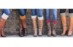 GroopDealz | Cable Knit Boot Cuffs