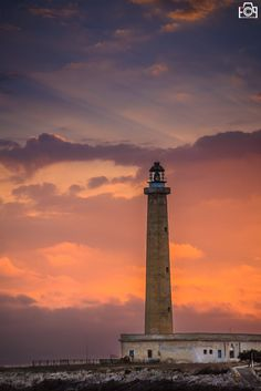 Lighthouse in Favignana island by Fabio Porcelli