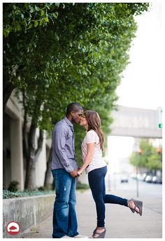Engagements in the City | KB McElmurry Photography