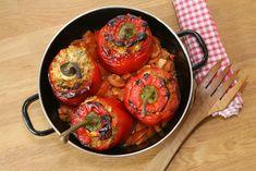 Foto: Monika Kupka Ratatouille, Ethnic Recipes, Food, Bulgur, Stuffed Sweet Peppers, Cooking, Eten, Meals, Diet