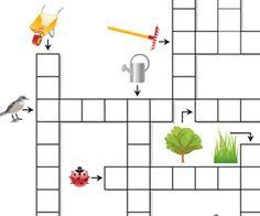 Grilles de mots crois s maternelle for Horticulturist crossword clue