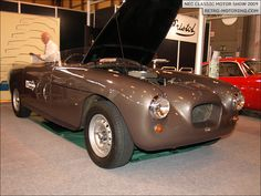 Bristol Bullet 405 NEC Classic Motor Show 2009 : Retro-Motoring Vintage Sports Cars, Vintage Cars, Antique Cars, Classic Motors, Classic Cars, Bristol Bullet, Bristol Cars, Love Car, Sport Cars