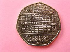 Collectable 50p #coins - #benjamin britten - blow #bugle blow, View more on the LINK: http://www.zeppy.io/product/gb/2/302062509895/