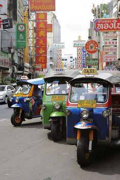 Tuk Tuk Rank - Bangkok, Thailand