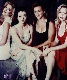 Las 4 chicas que marcaron mi adolescencia ☺️ (nunca habia visto esta foto)