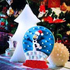 Olaf os desea feliz Navidad!