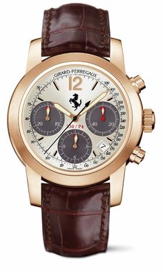 Girard-Perregaux Ferrari Dream Watches, Cool Watches, Man Watches, Ferrari Watch, Girard Perregaux, Oscar Fashion, Breitling Watches, Luxury Watches For Men, Swagg