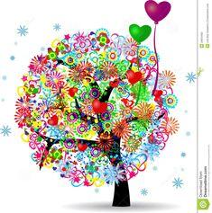 Arbol De La Vida Dibujo A Color Buscar Con Google Arboles Tree