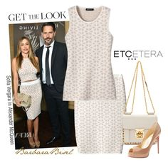 """""""Get the Look: Etcetera's COOKIE top and skirt"""" by biseletcetera ❤ liked on Polyvore featuring Alexander McQueen, Etcetera, Chloé and Christian Louboutin"""
