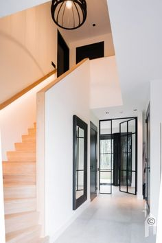 Inventive Staircase Design Tips for the Home – Voyage Afield Basement Ceiling Options, House Stairs, Staircase Design, House Goals, Interior Design Living Room, Building A House, Sweet Home, New Homes, Bannister