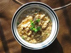 Oatmeal with Sesame Oil