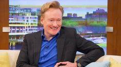 Chatting talk shows with Conan O'Brien