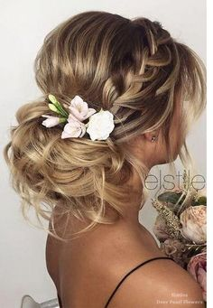 Bridesmaid Side Hairstyles Ideas