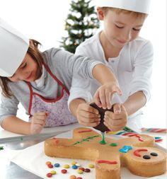 La recette du pain d'épices... MIAM! Une chouette activité cuisine à faire avec des enfants.