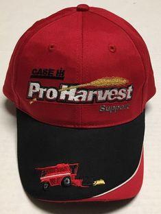 Case IH ProHarvest Support Hat Agriculture Baseball Cap Combine Harvesting  Farm  CaseIH  BaseballCap Case 727e32114deb