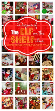 Dozens of The Elf on the Shelf Ideas - Updated Daily. FREE The Elf on the Shelf Printables and Step by Step Bendable Elf Tutorial #elfontheshelf #elfontheshelfideas
