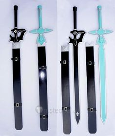 Sword Art Online Kirigaya Kazuto Kirito Cosplay Sword (Black)