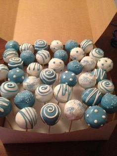 cake pops! By CakeItOrLeaveItHon on CakeCentral.com