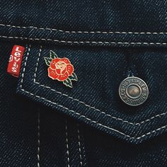 We now stock various Explorer's Press pins and patches, including this lovely rose pin, at www.nfsclothing.com