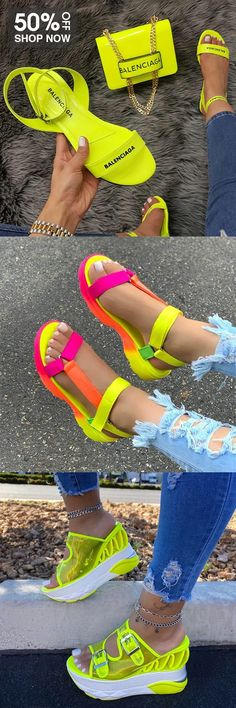 Funky Shoes, Colorful Shoes, Sneakers Fashion, Fashion Shoes, Fashion Outfits, Victoria Shoes, Diy Clothes And Shoes, Lace Wedges, Star Shoes