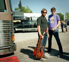 Black Keys representing with the Surf Ohio shirt!