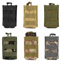 e1dade7a28339 Sport Pakiet Wisiorek dla M4 M16 Magazine Pouch Woreczki Na Zewnątrz Walkie  Talkie Torby Molle Tactical