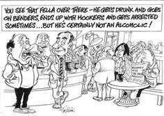 Cartoon by Jim Cogan