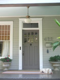 Brown Siding White Trim Theres No Place Like Home