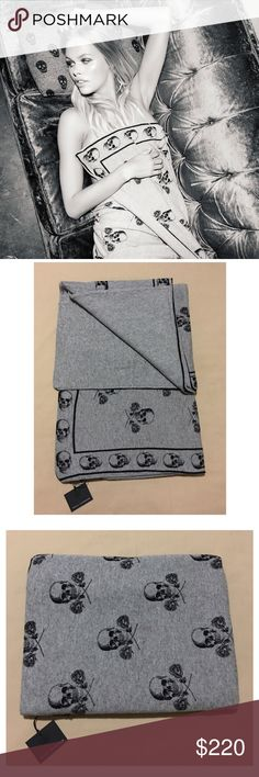 SKULL CASHMERE Shabooboo Blanket SKULL CASHMERE Shabooboo Blanket 