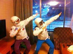 Pyeongchang style!   POC helmets and Onyone team wear. #POC #Onyone