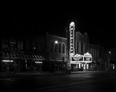 Day 319/365  Michigan Theater Ann Arbor, MI  * Had to drop off my son at his…