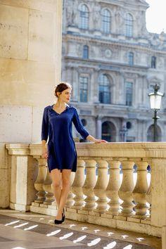 Robe Victoire - Sophie Rive Droite Marque de prêt à porter en édition limitée et 100% Made in France. Collection et mode féminine.