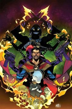 Howard the Duck, Dr. Strange, Deadpool