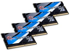 G.SKILL Releases DDR4-3800MHz 32GB (4x8GB) SO-DIMM Memory Kit for Mini-ITX Motherboards