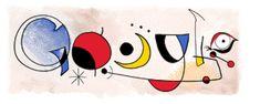 Google moet Joan Miró doodle verwijderen | Marketingfacts
