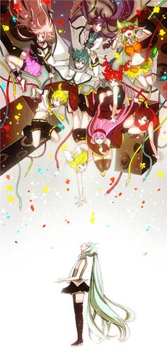 ALL OF THEM. It's raining vocaloids!