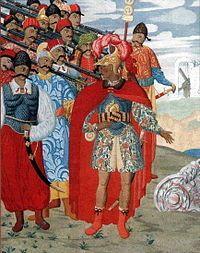 Еней та його військо, Нарбут