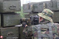 Передовая под Славянском: фото из лагеря украинских силовиков