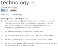 What is Technology? – unanswerable questions