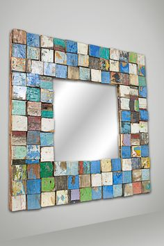Reclaimed mirror....