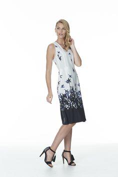 beautiful placement print silk dress by New Zealand label Catalyst. Silk Dress, Cold Shoulder Dress, Beautiful, Dresses, Design, Fashion, Silk Gown, Vestidos, Moda