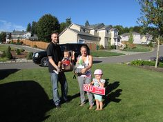 Happy Homeowners in Federal Way, WA!! Sold by the Diemert Properties Group! 425-308-6641