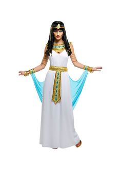 Cleopatra Egyptian Nile Queen Womens Costume